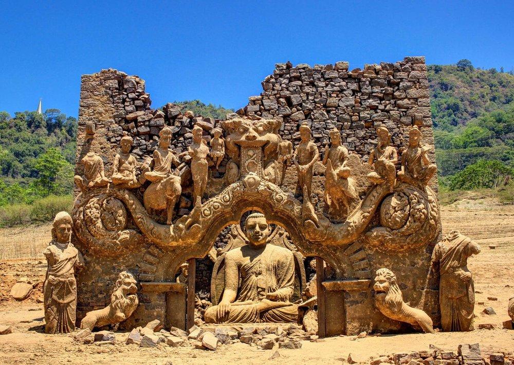Witness something very rare with this virtual tour of kadadora viharaya