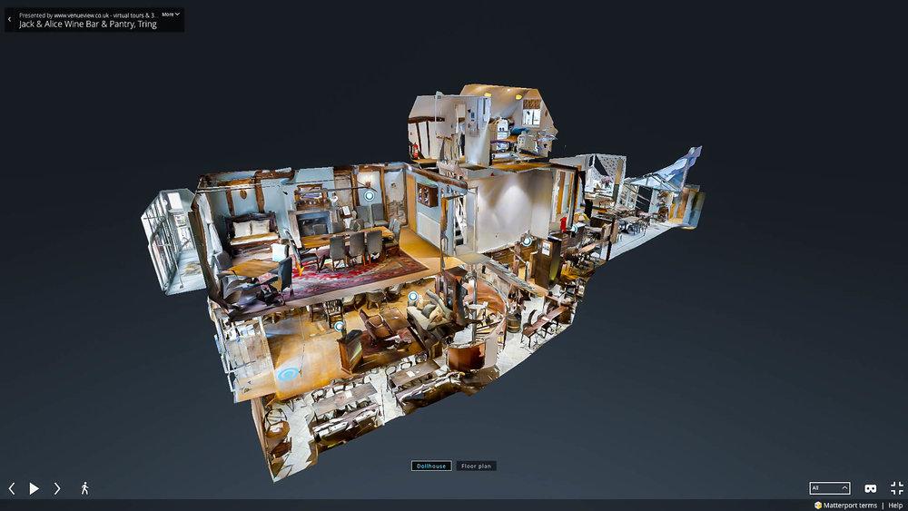 London Matterport Dollhouse Matterport Service Partner