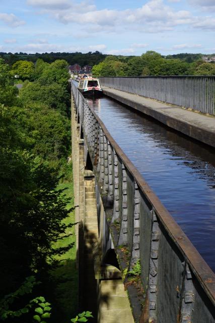 The Pontcysyllte Aqueduct