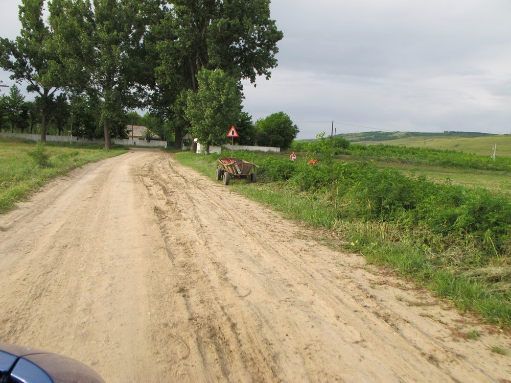 Rutted Roads and Wagons