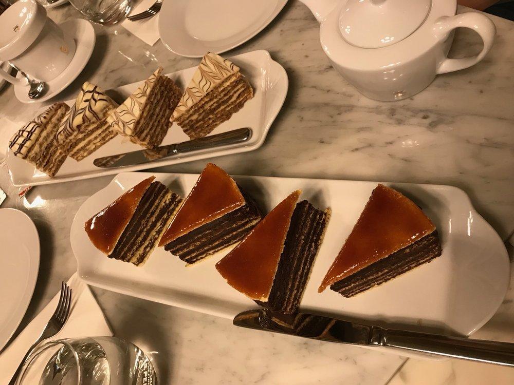 Torte at Café Central