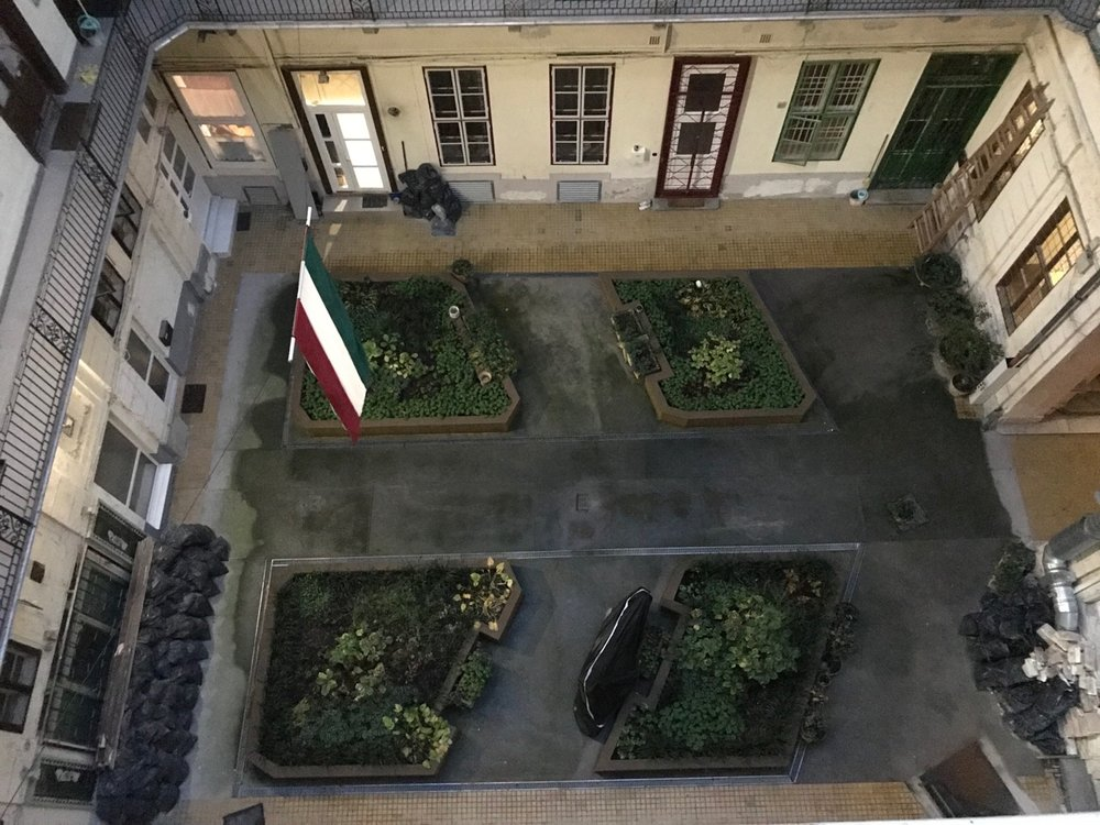 My Apartment Courtyard.