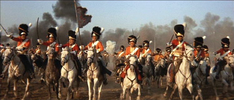 Waterloo Charge of the Light Brigade
