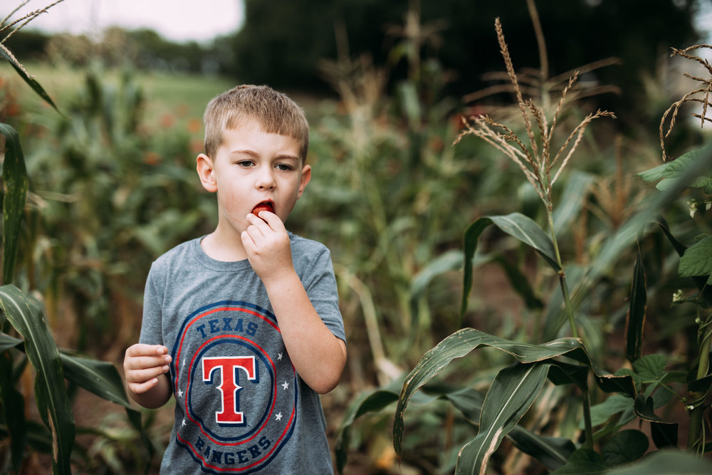 Fruits of your labor | Rural Life Photography | Family Photojournalism