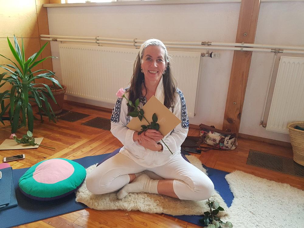 Heiða Björk, kundalini jógakennari