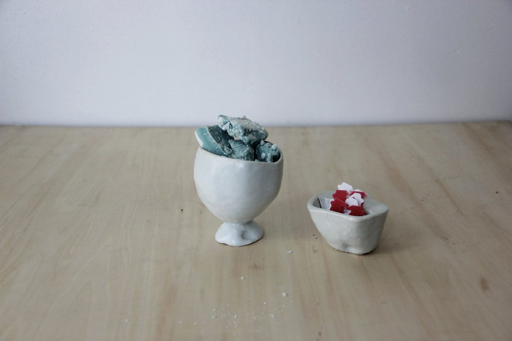 Objects Casted from an Avocado