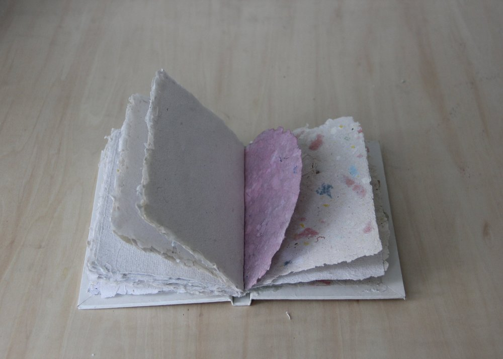 Handmade Book and Recycled Paper