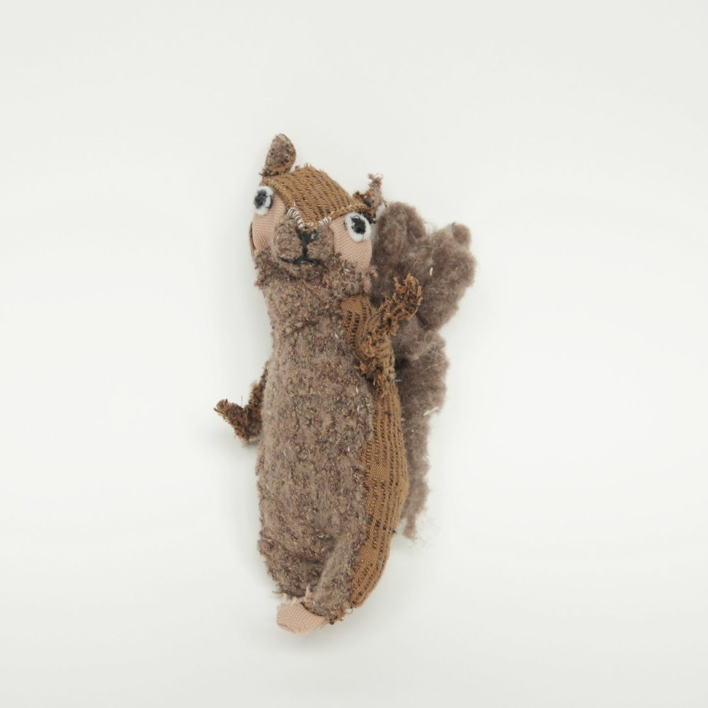 Gui, A Squirrel Constructed and Given as a Birthday Gift