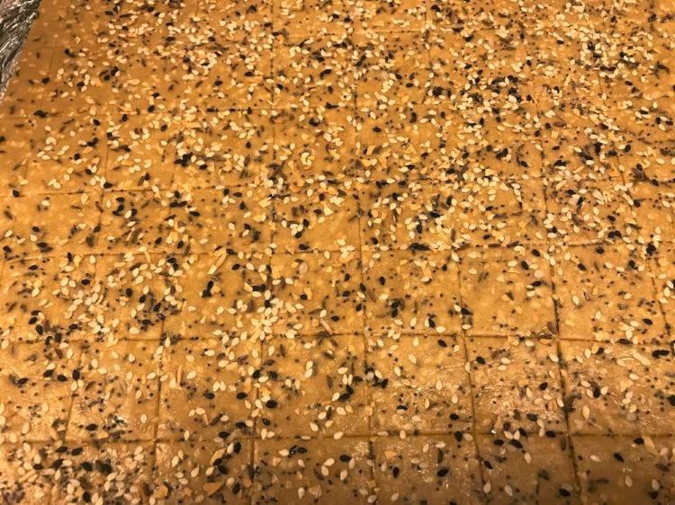 sesame crackers topped.JPG