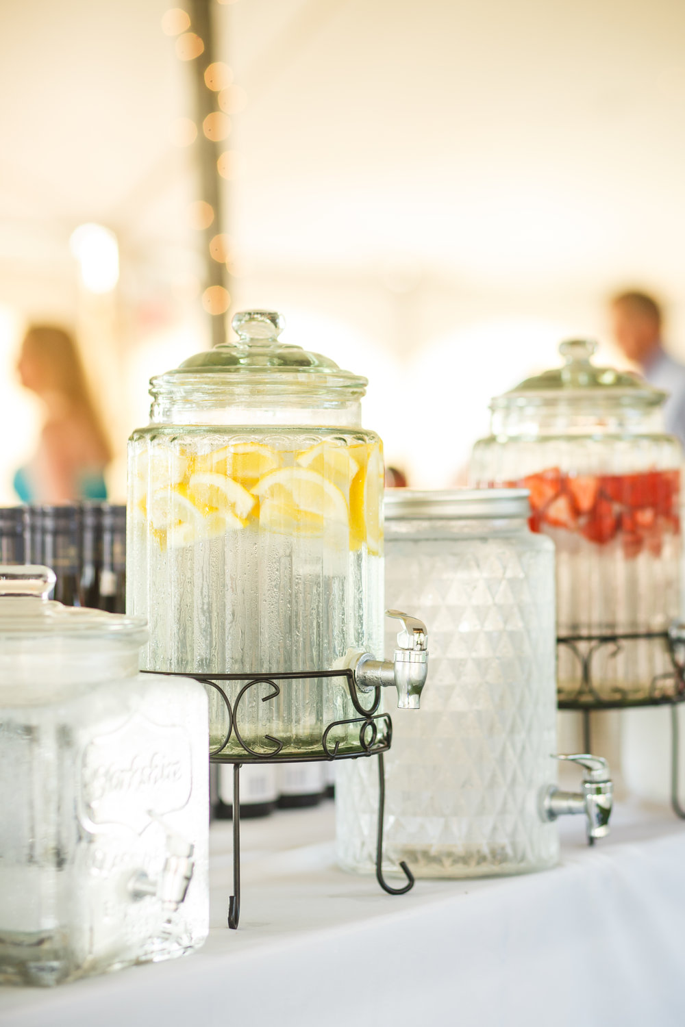 Assorted water and drink dispensers  Photo by  Simon Reid Photography