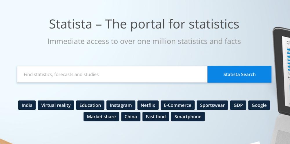 The Portal for Statistics