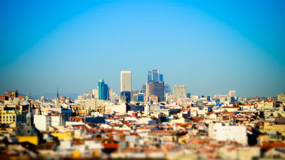 Madrid skyline view. 2015. Juanjo Photography..