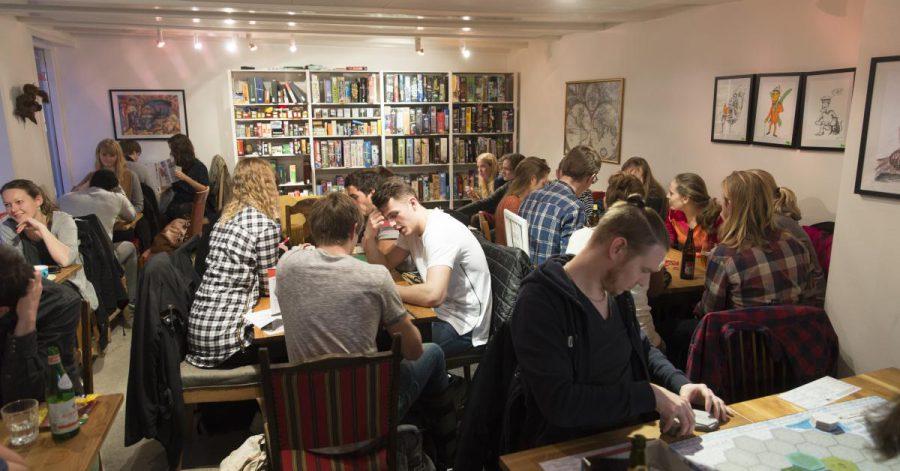 Brætspil cafe on Vestergade (credit:  Vink Aarhus )