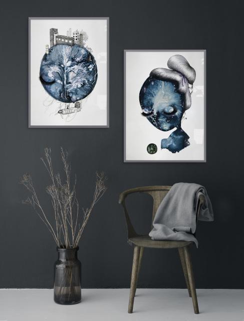 Satin Sea - Fine art print by Joanna Jensen AARHUSMAKERS