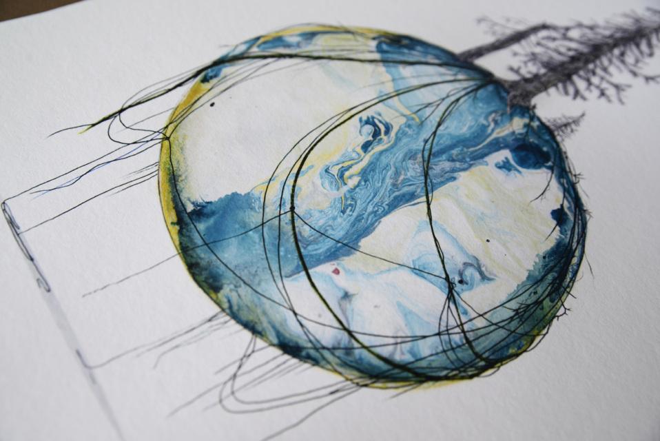 New World #49 - Fine art print by Joanna Jensen AARHUSMAKERS