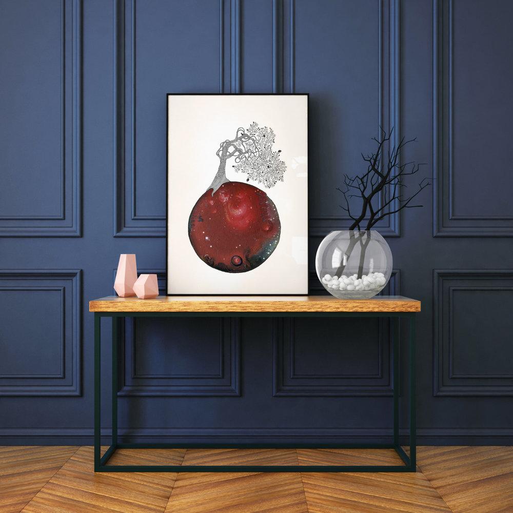 New World #202 - Fine art print by Joanna Jensen AARHUSMAKERS