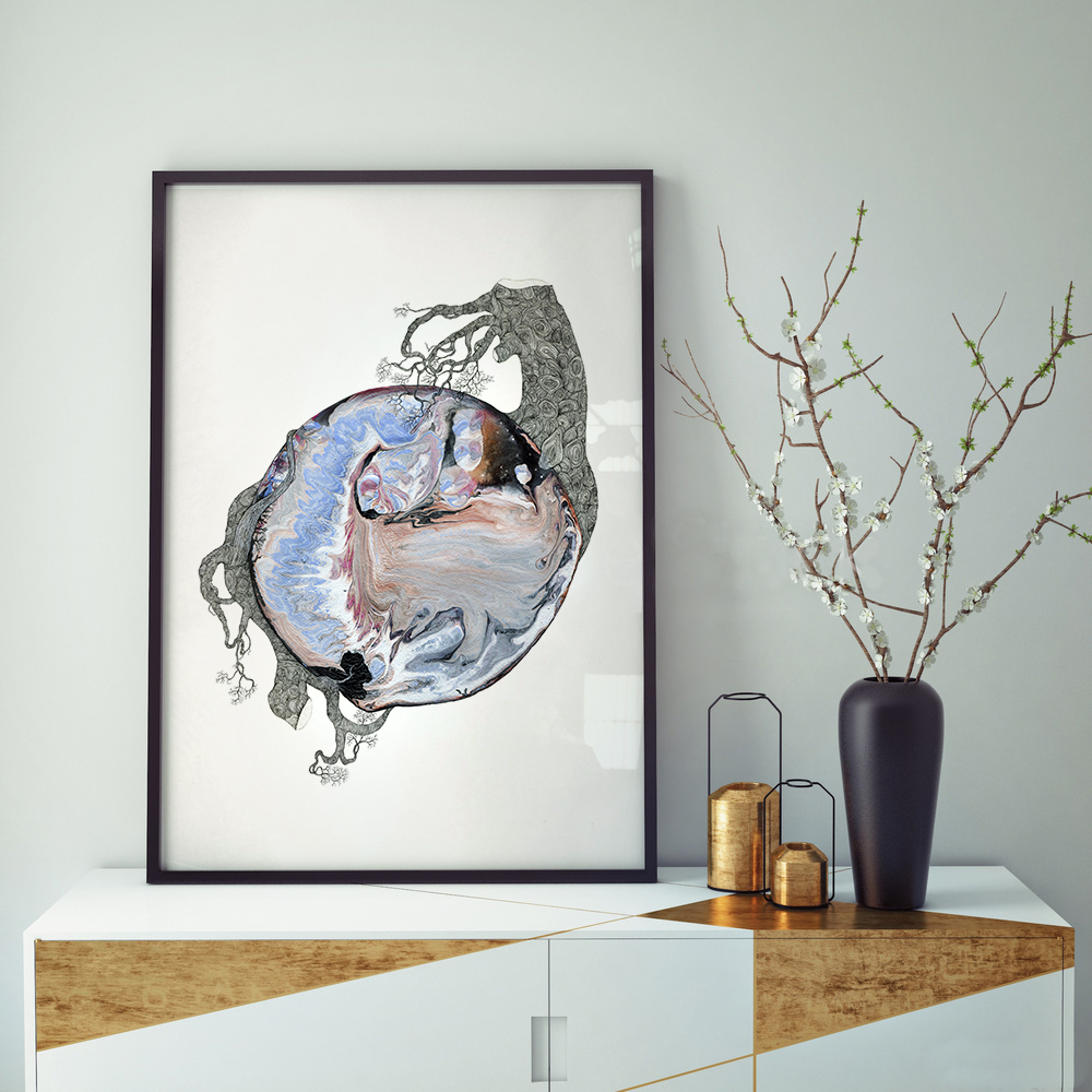 New World #169 - Fine art print by Joanna Jensen AARHUSMAKERS