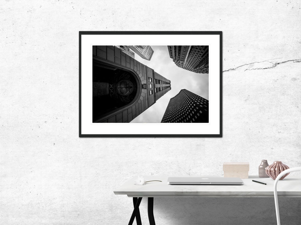 〆Triangle of Wealth - Limited edition photography print by Juanjo Keena〆 AARHUSMAKERS