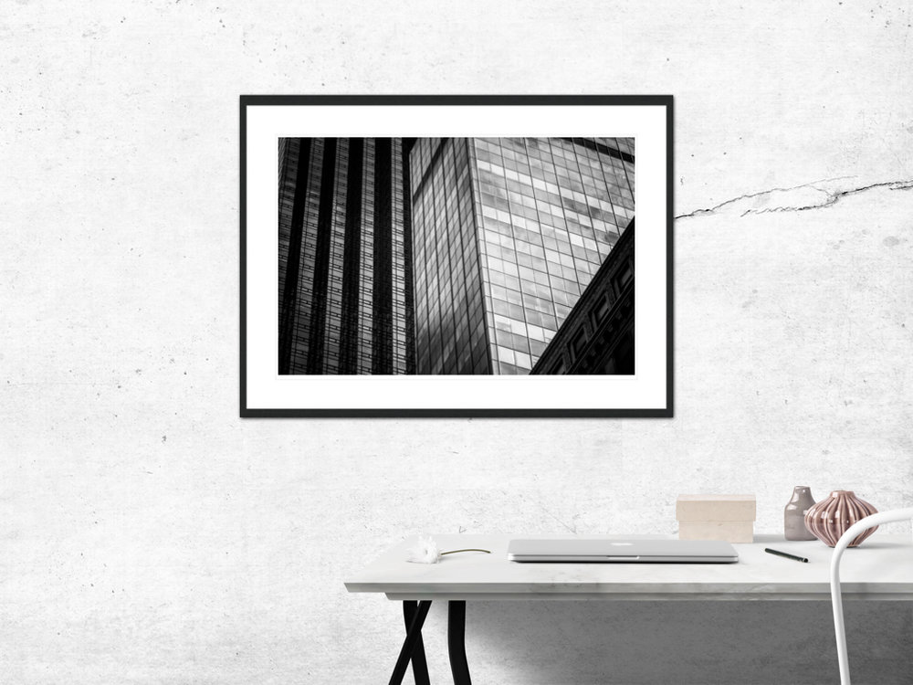 〆Glass and Steel - Limited edition photography print by Juanjo Keena〆 AARHUSMAKERS