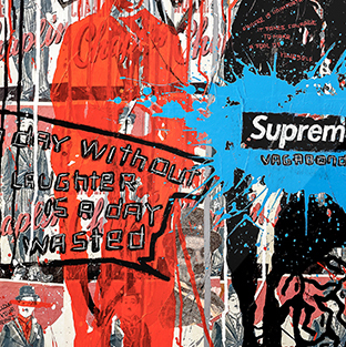 🥫Supreme Vagabond - Limited edition art print by Torben Buus🥫AAARHUSMAKERS