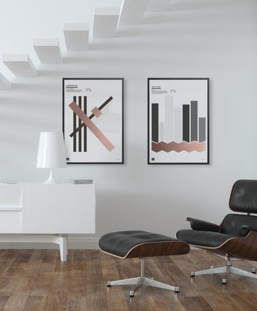KØBENHAVN - Limited edition handmade poster by Torben Buus — AARHUSMAKERS