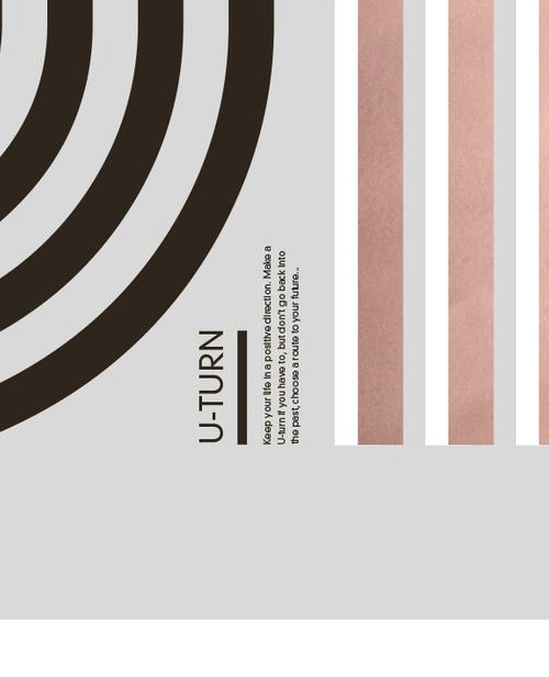 U-Turn - Limited edition handmade poster by Torben Buus — AARHUSMAKERS