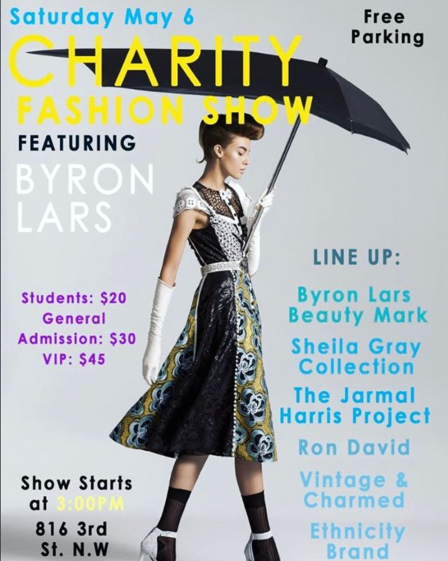 Today is the day! Come out for a fun and worthy cause. Preview our Spring/Summer collection. There are just a few tickets left! #byronlars #dcfashion #dcstyle