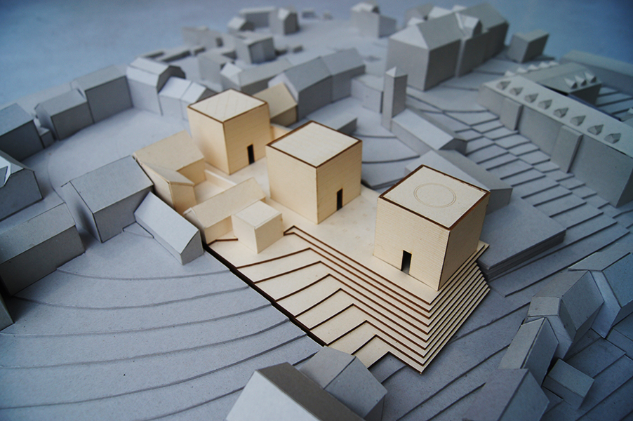 temple of three religions model.JPG