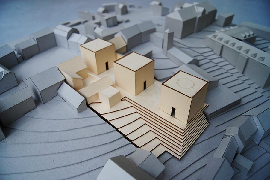 temple of three religions model.JPG