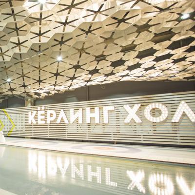 Керлинг Холл - потолок