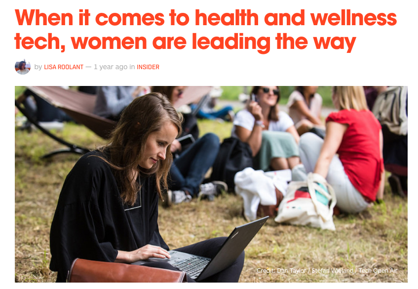 AT TOA, women led the conversation on one important topic: how can technology be used to improve human health and wellbeing?  Read more on The Next Web.