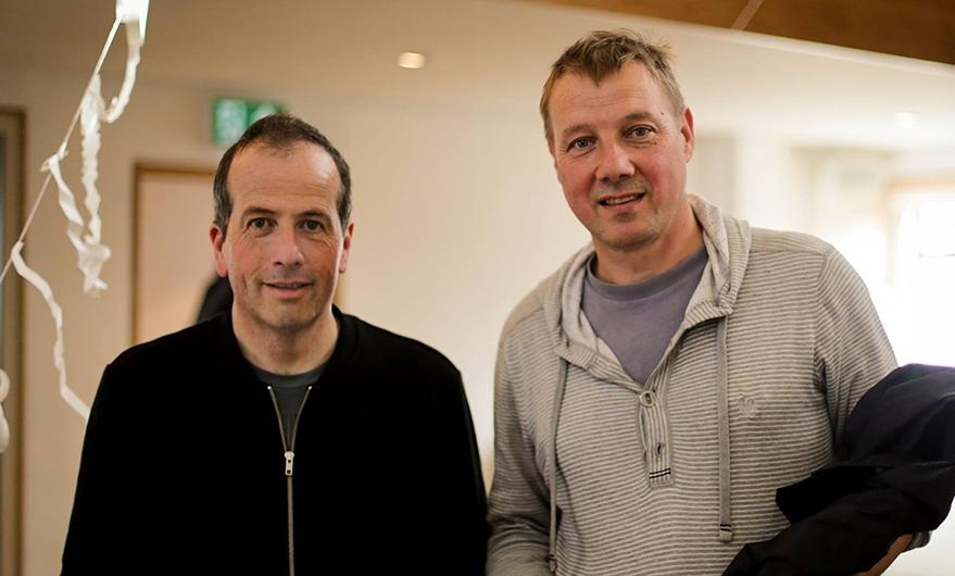 Chris Glynn and Richard Parry at Penarth Pier Pavilion Sept 2016 Photo:Amy Leach‐Haynes  ©