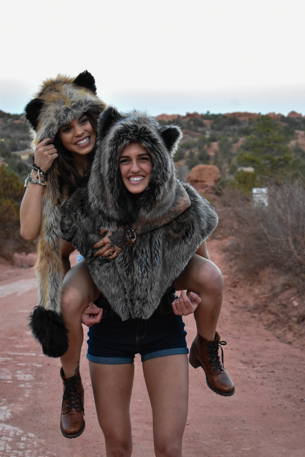 Garden of the Gods with Spirit Hoods