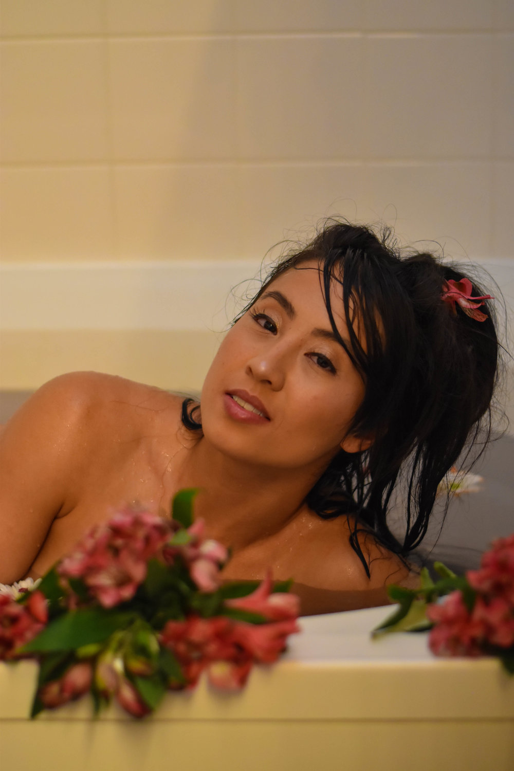 Milk Bath with Brenda