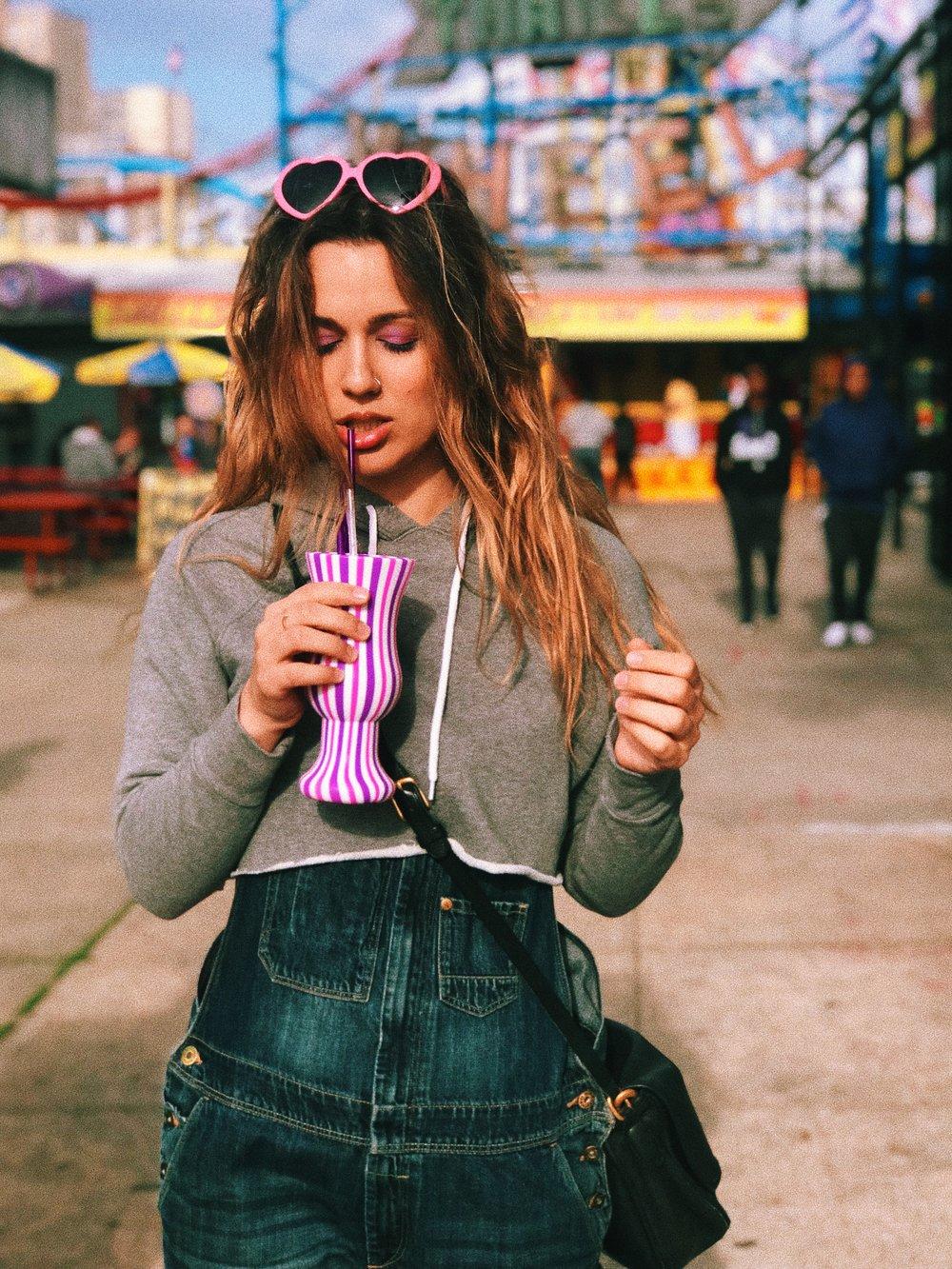 Kat Coney Island Sip