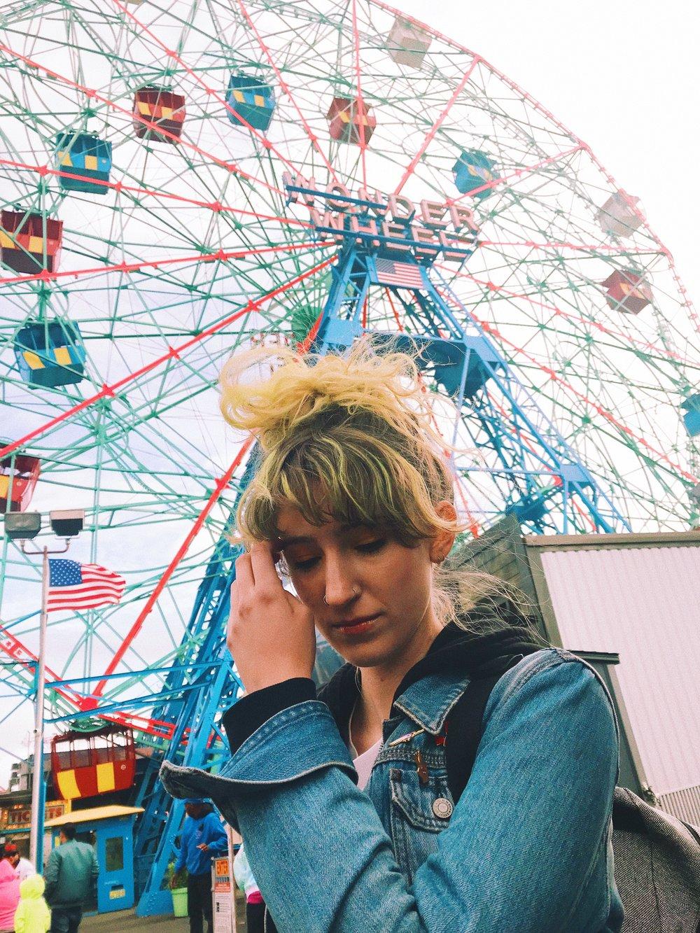 Hannah Coney Island Ferris Wheel