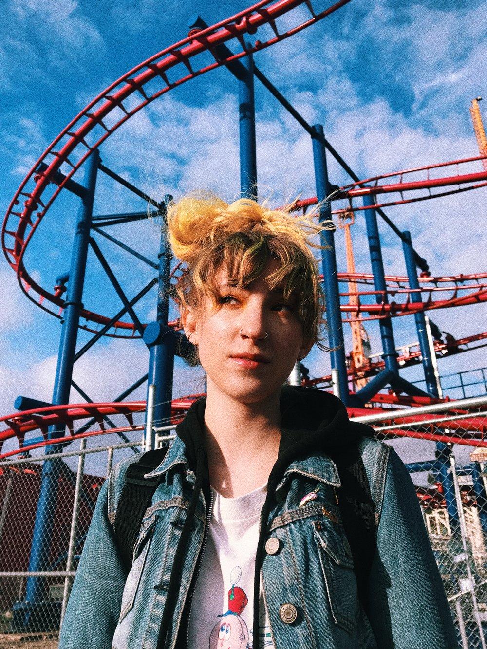 Hannah Coney Island Roller Coaster