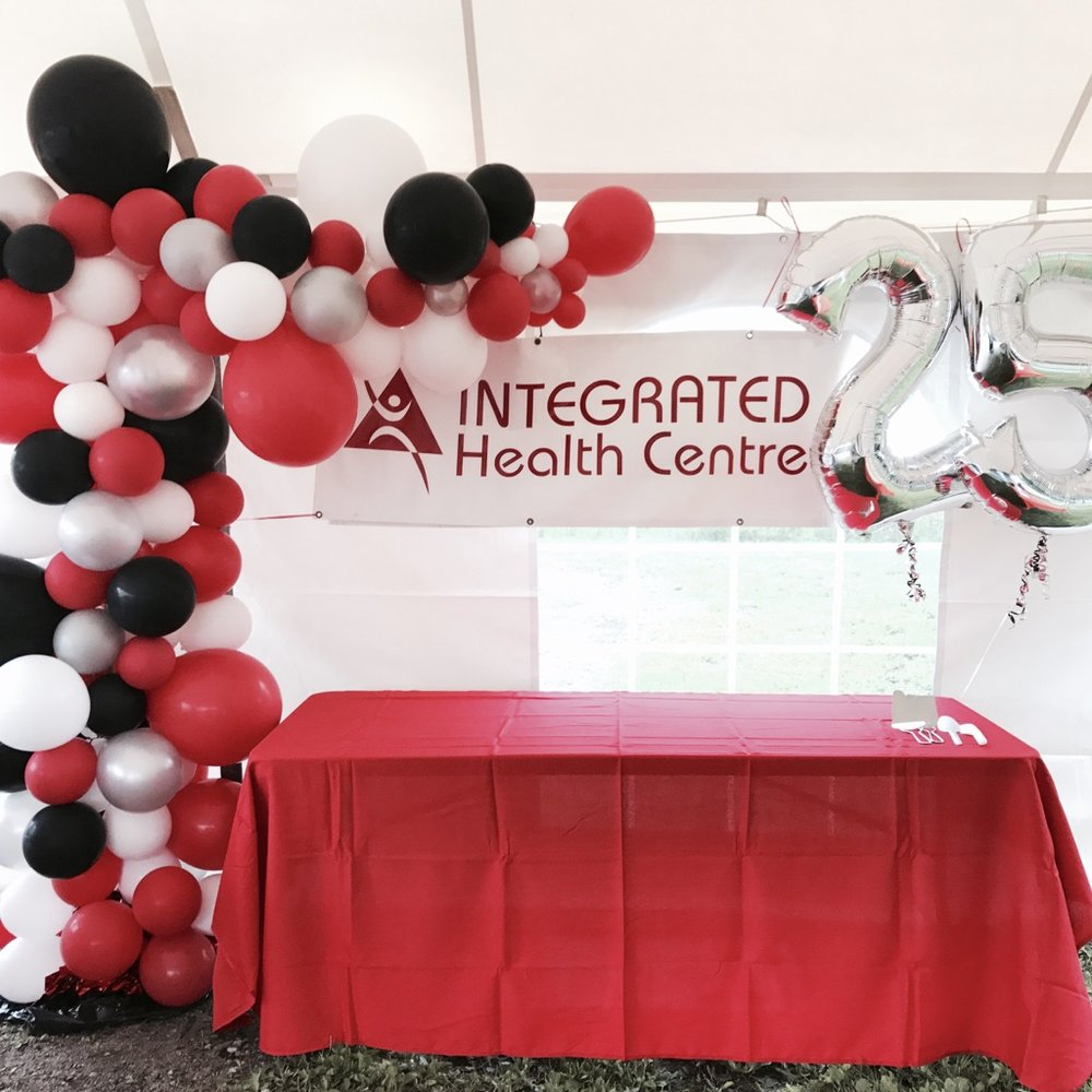 INTEGRATED HEALTH CENTRE'S 25TH BIRTHDAY BASH