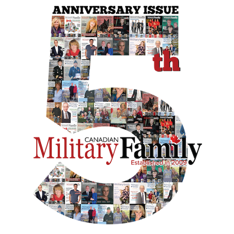 CANADIAN MILITARY FAMILY MAGAZINE - 5TH ANNIVERSARY