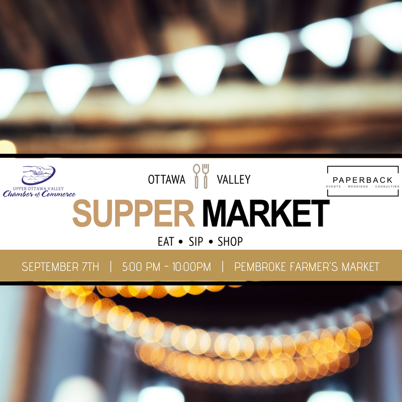 OTTAWA VALLEY SUPPER MARKET - EVENT CREATION + PARTNERSHIP