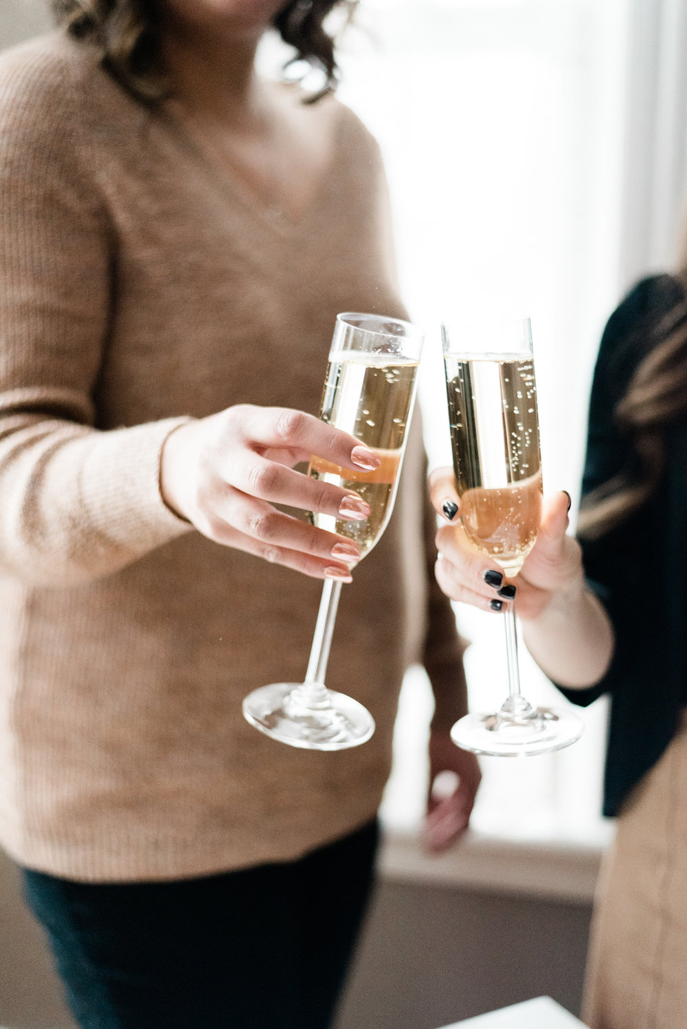 Cheers to all the amazing women we know! (Photo: Caitlin Ritchie)