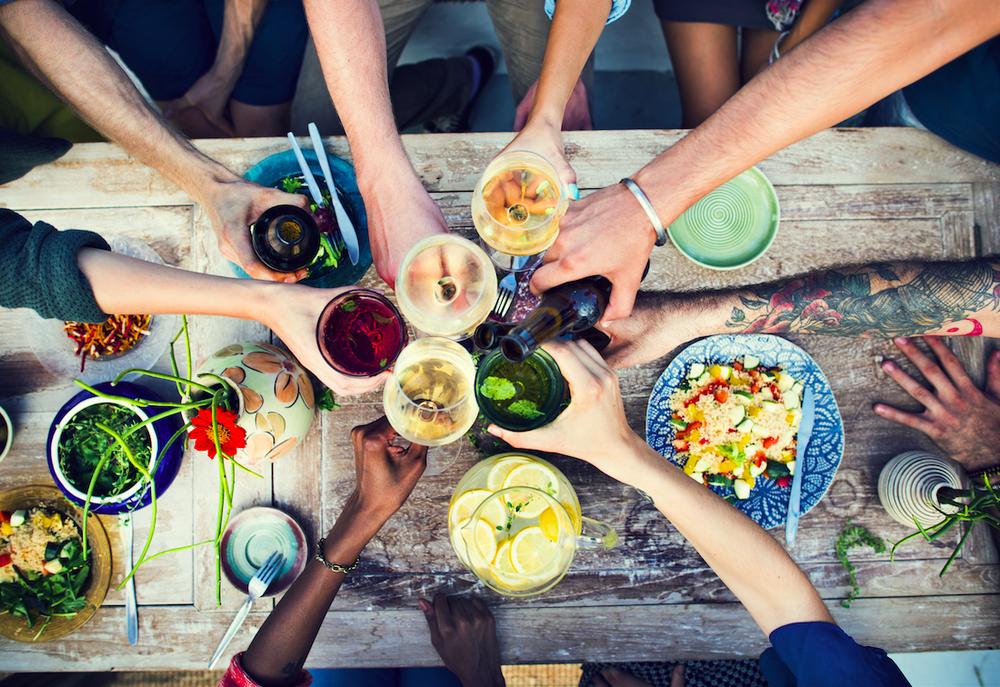 Vegan life tips: dinner parties
