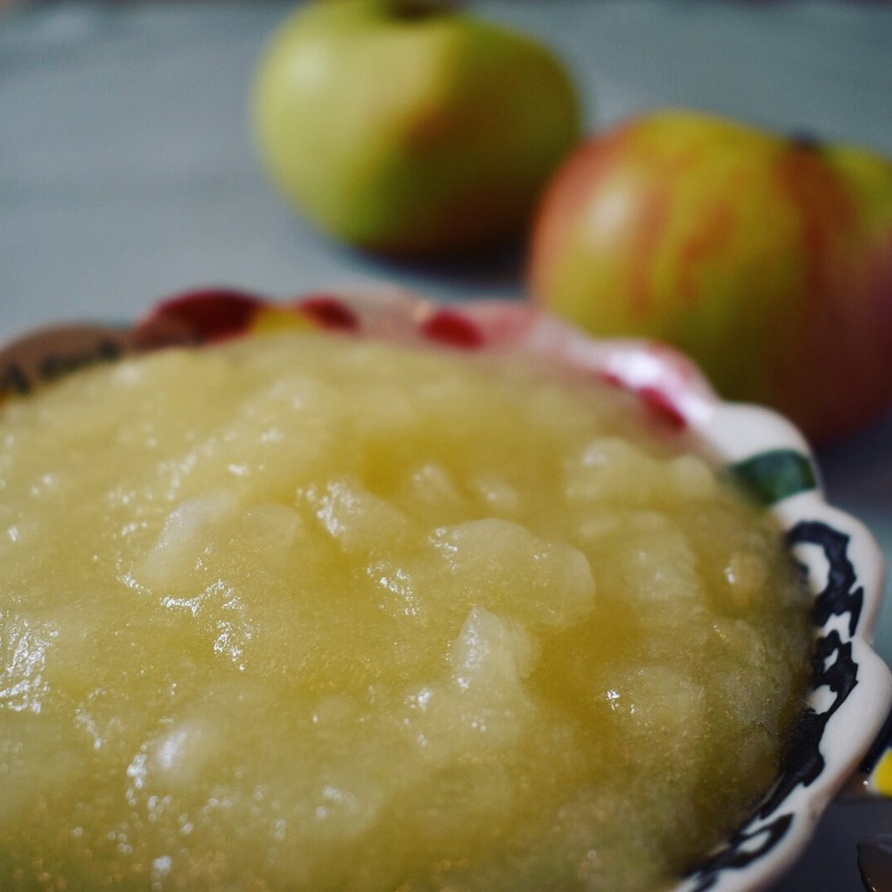 Vegan apple sauce recipe