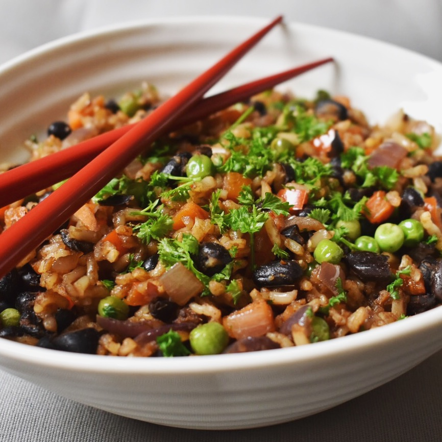 Vegan fried rice recipe