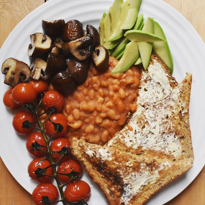 Vegan fry up!