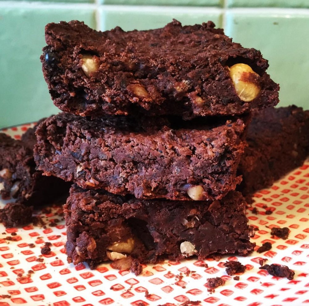 Vegan black bean brownie recipe