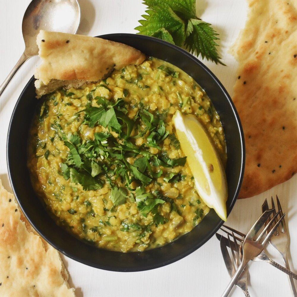 Vegan lentil dhal recipe