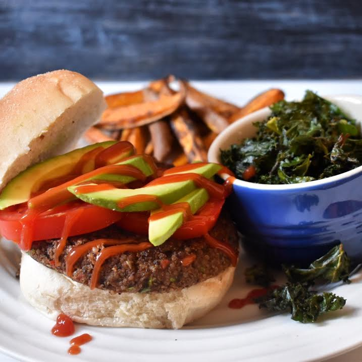 Vegan black bean burger recipe