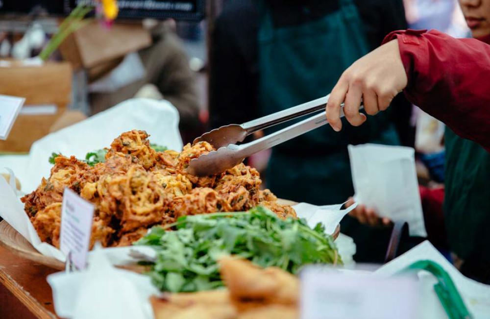 Vegan Indian street food