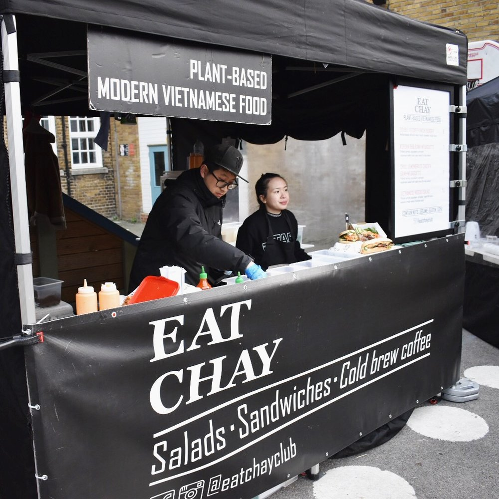 Eat Chay vegan Vietnamese street food stall